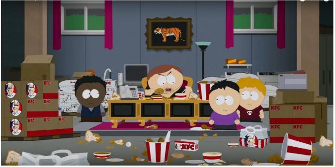 Cartman a KFC