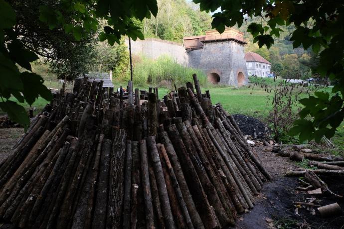 Změna úhlu dřeva