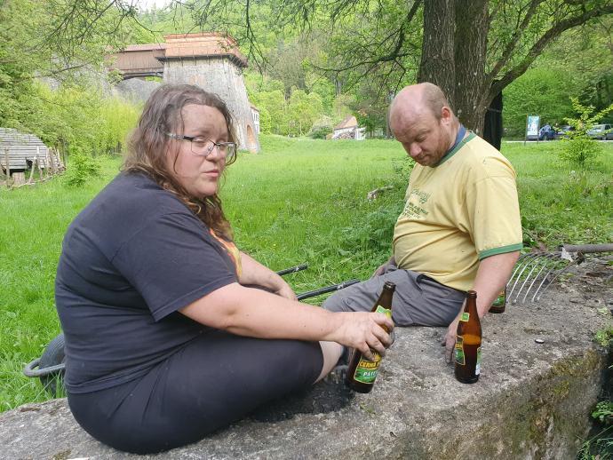 Dominik a Anička