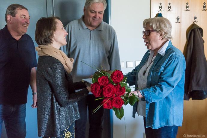 dr. Věra Souchopová oslavila významné jubileum. Gratulujeme z celého srdce!