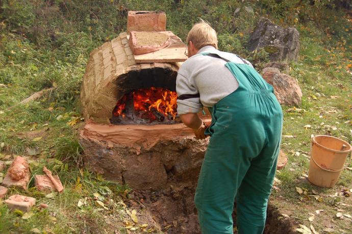 Roztápění pece