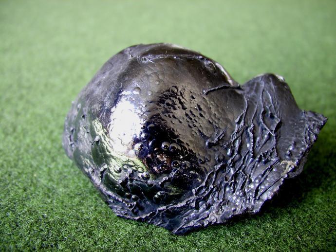 Ledvinitý goethit z Gemerského rudohoří