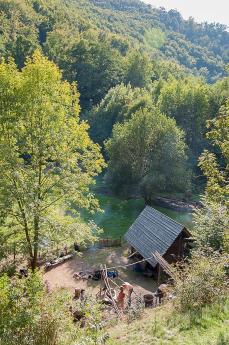 Stará huť u Adamova / Josefov - okrsek starého železářství - září 2015