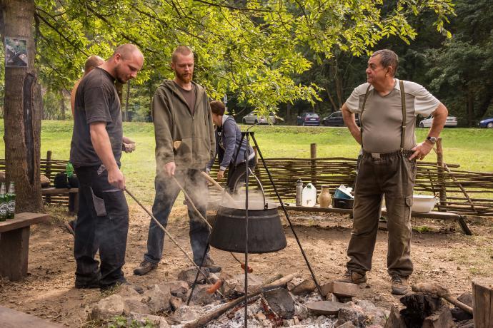 Vaření v kotlíku