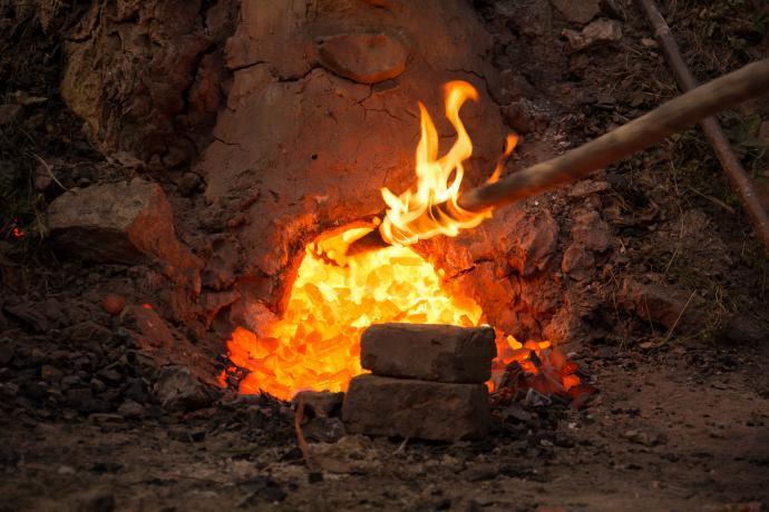 Hořící nástroj