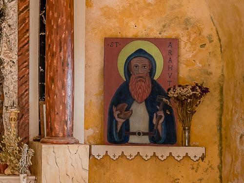 .ST. ARAHVT - ikona z dílny neznámého místního umělce (zvětšeno)